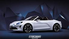 Renault Alpine Vision Cabriolet Could Be Sexier Than The