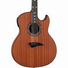 best thin acoustic guitar dean exhibition thin acoustic electric guitar w aphex guitar center