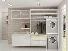 Interior Ruang Cuci Dan Setrika Minimalis Sederhana