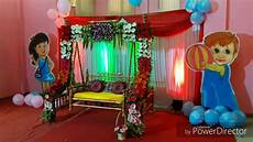 Decoration Ideas For Dohale Jevan by Dohale Jevan Baby Shower Simple Decoration