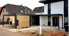 Carport Hauswand Haus Anbau Luxemburg 183 Modern 183 Stahlzart