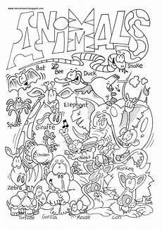 creatures of the air coloring poages