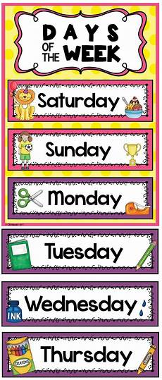 52 hands on activities for the every week of the year days of the week english classroom kindergarten