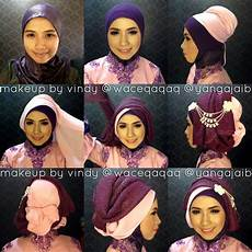 Cara Memakai Jilbab Di Baju Kebaya Trend Jilbab