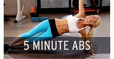 5 minute abs best ab workouts on youtube popsugar