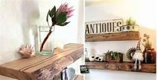 mensole di legno fai da te mensole stile rustico in ambiente moderno 20 esempi a cui