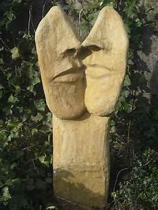 Gartenkunst Aus Beton - kunst und design gesichter skulptur aus beton f 252 r au 223 en