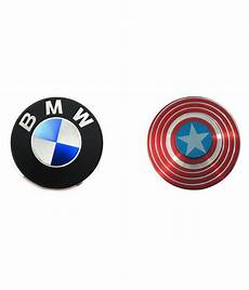 Combo Of Two Spinners Bmw Captain America High Quality