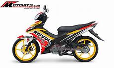 Mx 135 Modif by Modif Decal New Jupiter Mx 135 Repsol Motohits