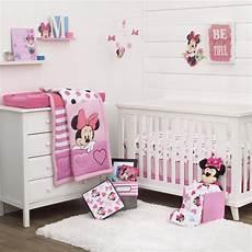 minnie maus kinderzimmer disney minnie mouse dots 3 pc crib bedding set and