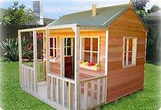 simple playhouse plans wallaby lodge quot cubby house yard