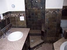 slate tile bathroom ideas slate bathroom remodel hardhat13