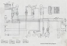 1975 yamaha dt 125 wire schematic manuals dave s bikes