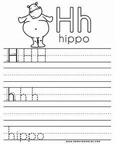 letter h for worksheets 24473 letter practice h worksheets dorky doodles