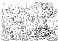 malvorlage fische ausmalbild 2885