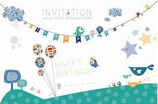 Carte Invitation Anniversaire Enfant Carte Invitation