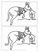 Spot The Difference Coloring Pages Download And Print