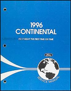 car repair manuals online pdf 1995 lincoln continental interior lighting 1996 lincoln continental repair shop manual original