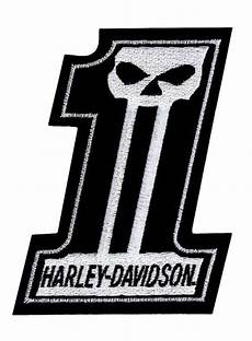 harley davidson patches harley davidson 1 skull black white small patch 3 w