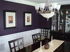 my eggplant purple dining room i chose this color a whim and everyone seems to like it the