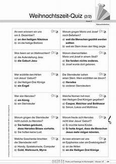 Gratis Malvorlagen Weihnachten Quiz Kopiervorlage Quot Weihnachtszeit Quiz 2 2 Quot Aus Feste Und