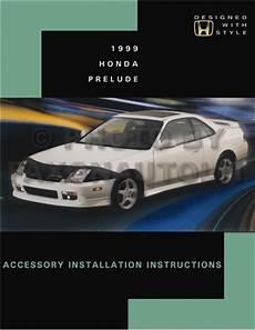 automotive service manuals 1999 honda prelude auto manual 1999 honda prelude accessory installation manual reprint useful for 1997 2001