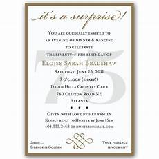 75th birthday card template classic 75th birthday gold invitations chris