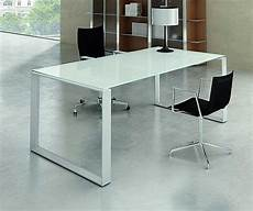 white home office furniture uk mystique white glass executive desk office reception