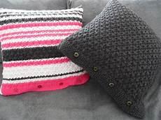 housse pour coussin tricoter housse de coussin altoservices