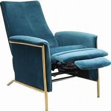 fauteuil velours bleu fauteuil relax r 233 tro velours bleu lazy kare design