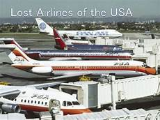 lost airlines of the usa the major air carriers no longer flying