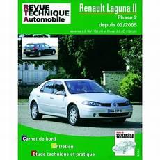 Rta Renault Laguna Ii Phase 2 Essence Et Diesel 2 0l