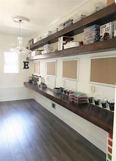 simply done an incredible diy homework craft room