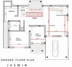 sri lankan house plans jasmin plan singco engineering dafodil model house