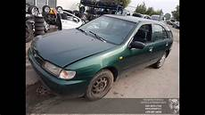 how can i learn about cars 1996 nissan sentra engine control car recycler parts nissan almera n15 1996 2 0 d 55kw diesel mechanical hatchback youtube
