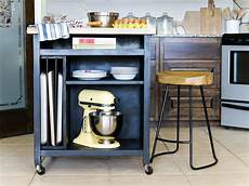 Kitchen Island On Wheels Plans by How To Build A Diy Kitchen Island On Wheels Hgtv