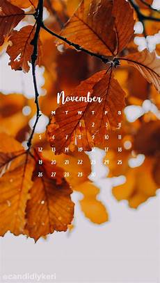 november iphone wallpaper golden changing fall leaves november calendar 2017
