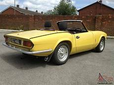 Triumph Spitfire Mk4 Mimosa Yellow Taxed And Tested Just