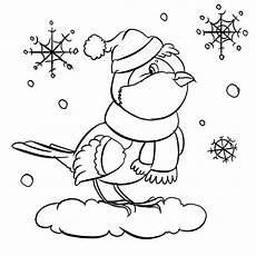 winter ausmalbilder kostenlos malvorlagen windowcolor zum