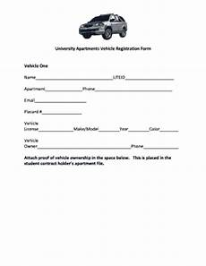 vehicle registration form fill online printable fillable blank pdffiller