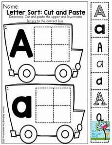 letter recognition worksheets for preschoolers 23276 cut and paste letter recognition in different fonts preschool preschool preschool learning
