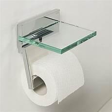 tiger safira toilettenpapierhalter mit praktischer glas