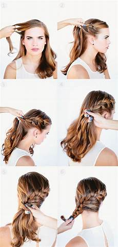 5 minutes cute daily hairstyles with hair extensions