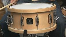 wood hoop snare gretsch all maple 6 5x14 snare drum with dunnett wood hoops