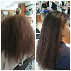 Avant Apr 232 S Lissage Br 233 Silien Sur Cheveux Afro R 233 Sultat