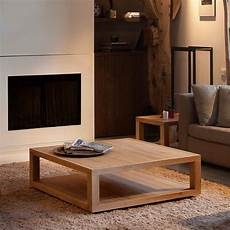 Designer Couchtisch Holz - furniture furniture rustic square brown wooden