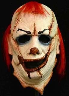 Clown Skinner Mask Killer Scary Fancy Dress Up