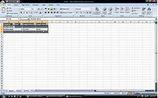 how to make a table in excel 2007 youtube