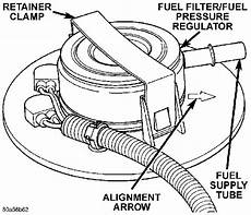 99 fuel filter location where is the fuel pressure regulator located on a 99 wrangler i been told its in the