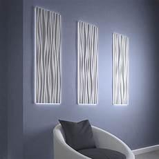 wave shaped acrylic shade led light wall panels oregonuforeview